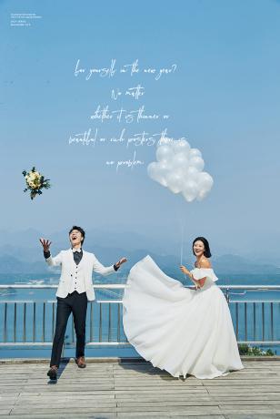 宜兴婚纱照样片:最佳外景地拍摄-星月岛
