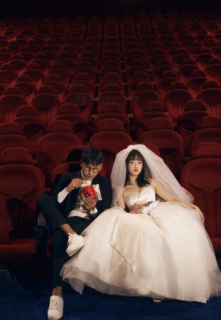 法国兰斐婚纱摄影 千岛湖微旅拍 电影院