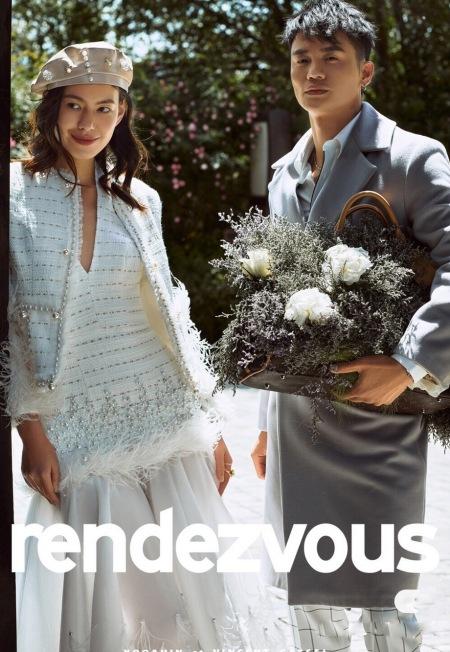 法国兰斐婚纱摄影——杂志风