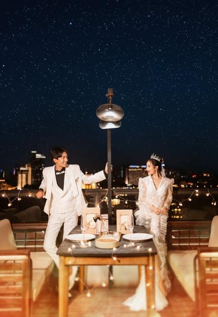 【宜兴旅拍婚纱照】全球旅拍 鼓浪屿 液夜景
