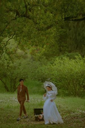 2021 法国兰斐 婚纱照新主题 梵高森林