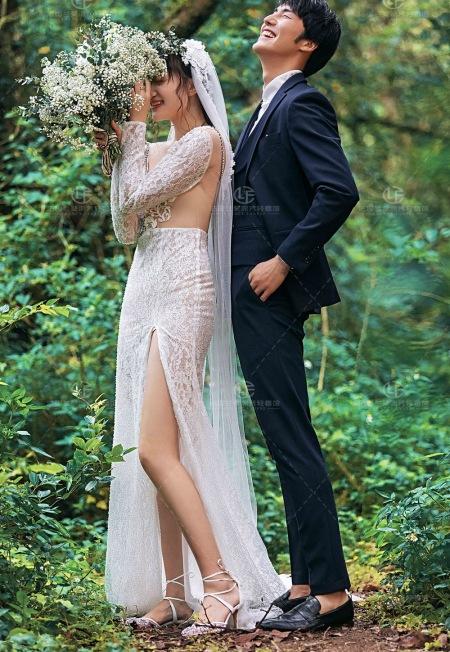法国兰斐 2021 森系婚纱照